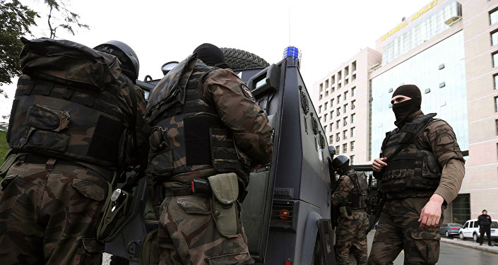Members of special security forces. Turkey