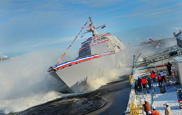 US Navy's Newest Ship Breaks Down in the Open Sea