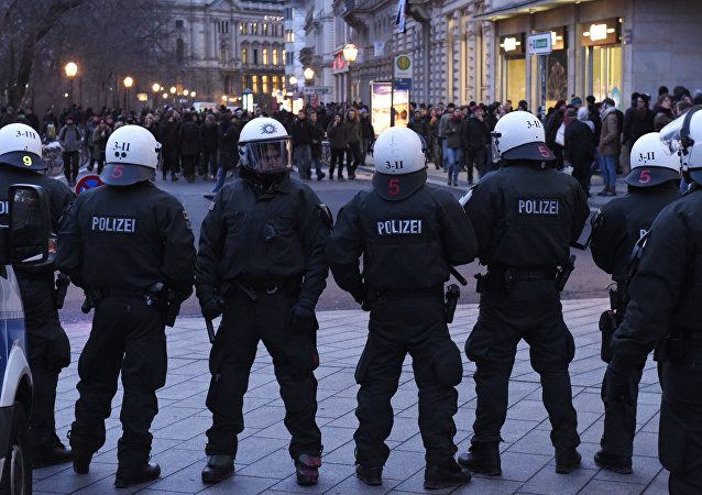 Police forces in Leipzig