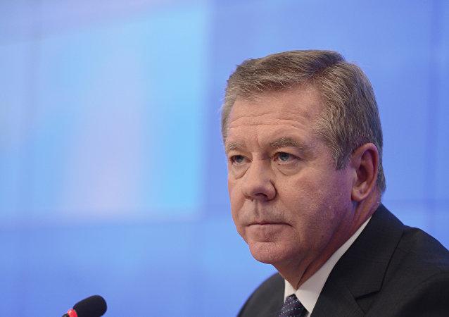 News confernce by Russian Deputy Foreign Minister Gennady Gatilov