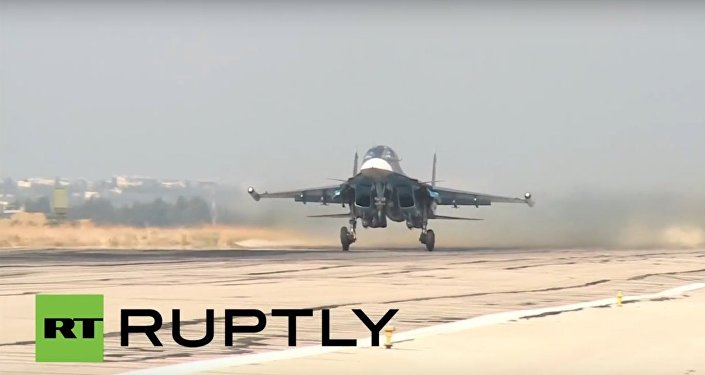 Russian Sukhois jet out of Latakia airbase for IS strikes