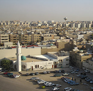 Panorama of Riyadh, the Saudi Arabian capital