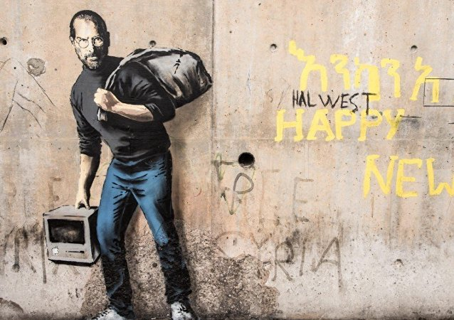 Steve Jobs by Banksy