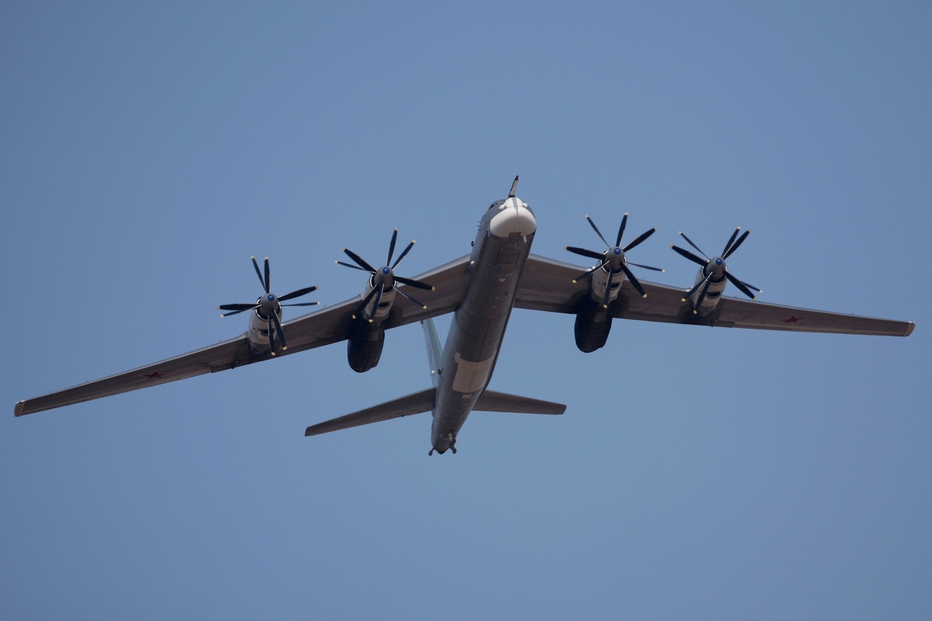 TU-95MS heavy bomber