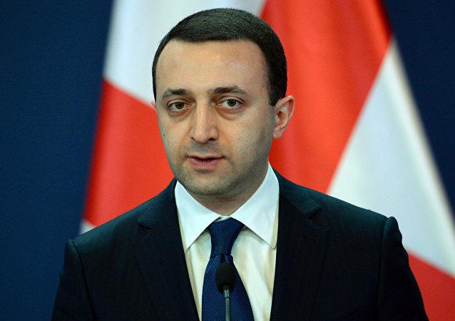 Georgian Prime Minister Irakli Garibashvili.