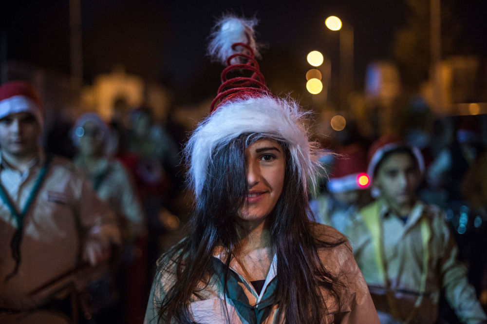 Xmas in Syria: Festive Spirit in Damascus Despite Ongoing War