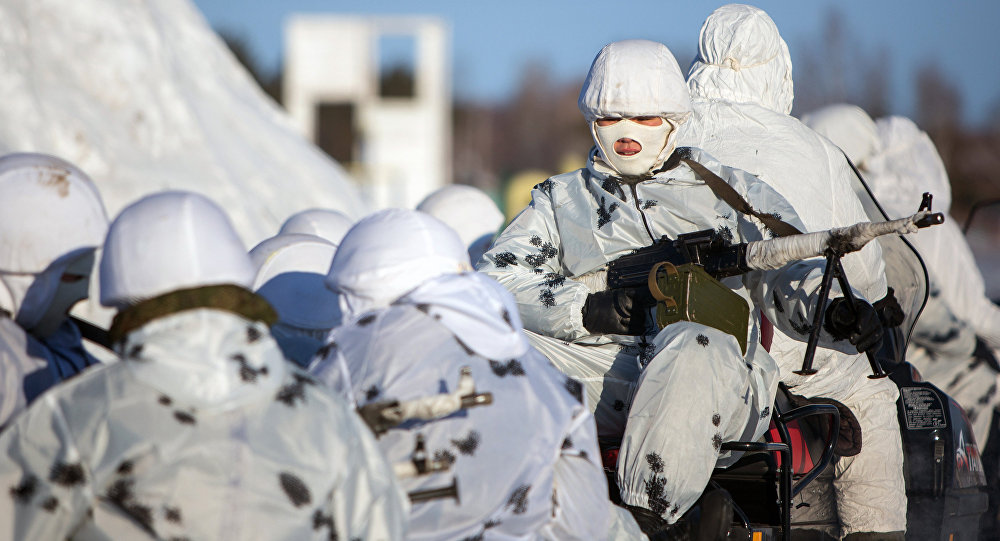 Russian cadets training in the Arctic