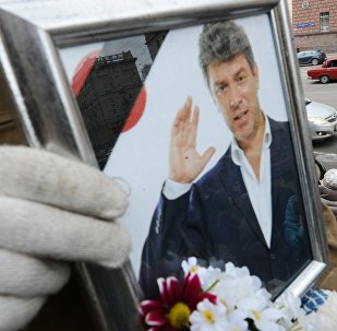 Paying last respects to politician Boris Nemtsov in Moscow