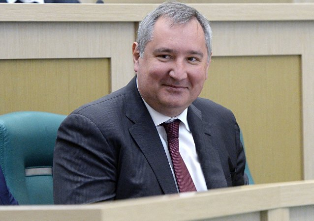 Deputy Prime Minister Dmitry Rogozin.