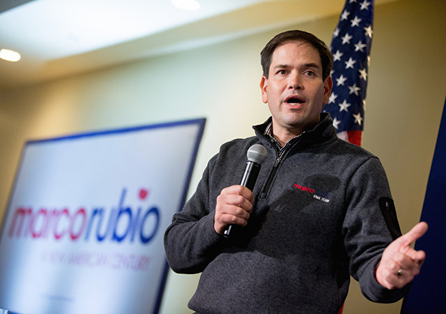 Republican presidential candidate, Sen. Marco Rubio, R-Fla. speaks at Rastrelli's Tuscany Special Events Center in Clinton, Iowa, Tuesday, Dec. 29, 2015.