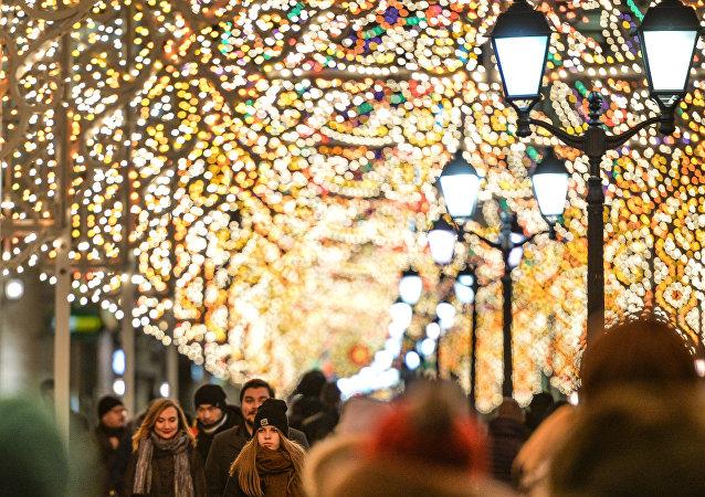 Christmas Light International Festival in Moscow