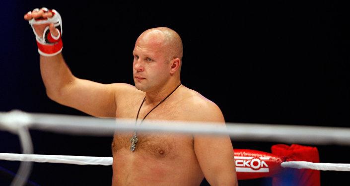 Mixed Martial Arts. Russian Fedor Emelianenko