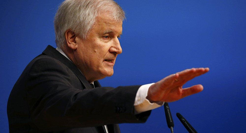 Bavarian Prime Minister and head of the Christian Social Union (CSU) Horst Seehofer