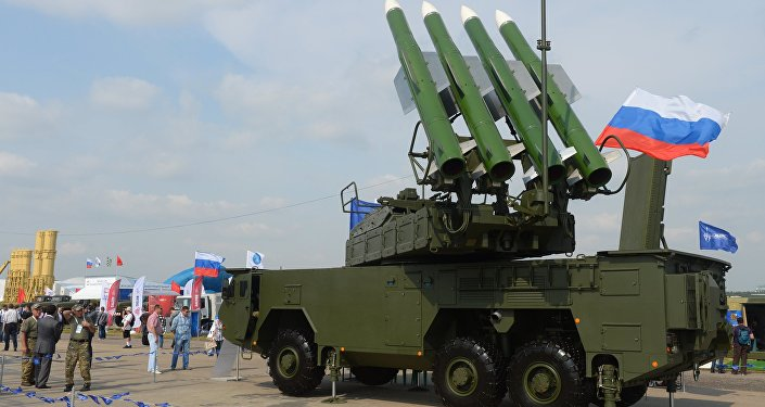 BUK-M2E surface-to-air missile system