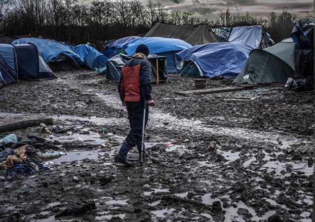 'Inhumane' Dunkirk refugee camp