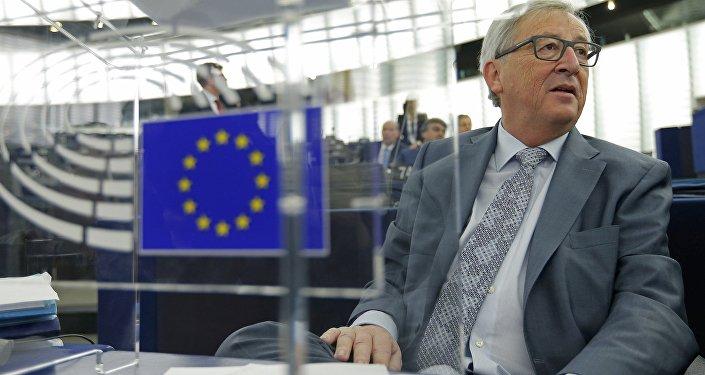 Jean-Claude Juncker visits Amsterdam