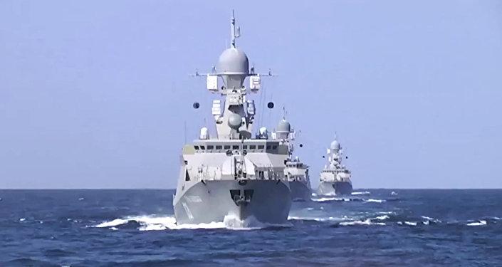Caspian Flotilla ships