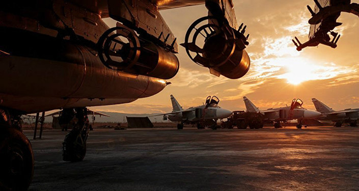 Everyday life of the Russian air group at the Hmeymim airfield in Syria. File photo