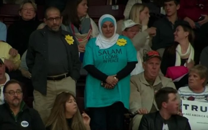 WATCH: Muslim Woman Chased Out of Trump Campaign Event by ...