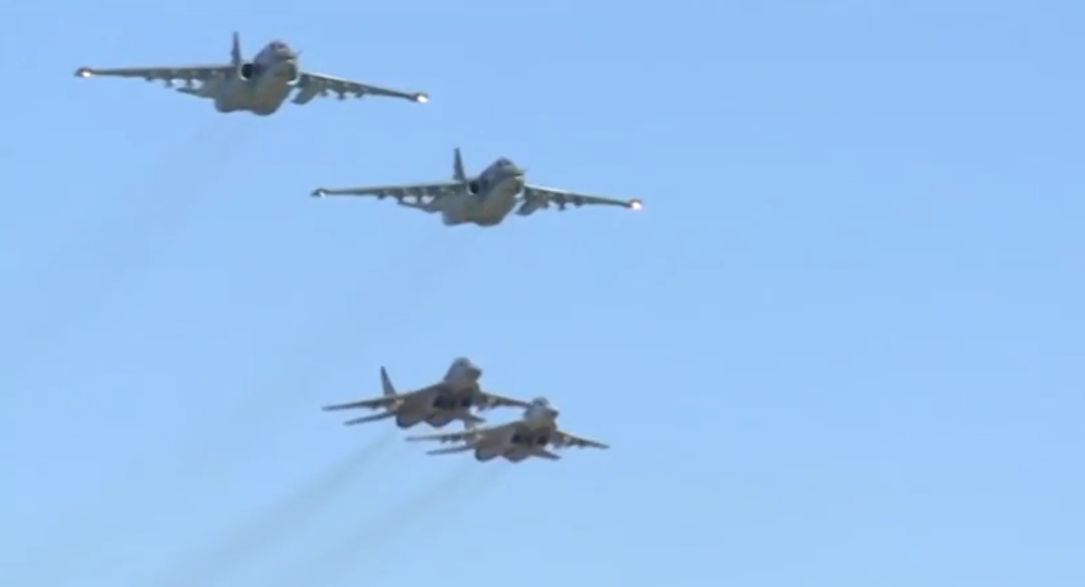 Russian, Syrian Air Forces Conduct First Joint Operation