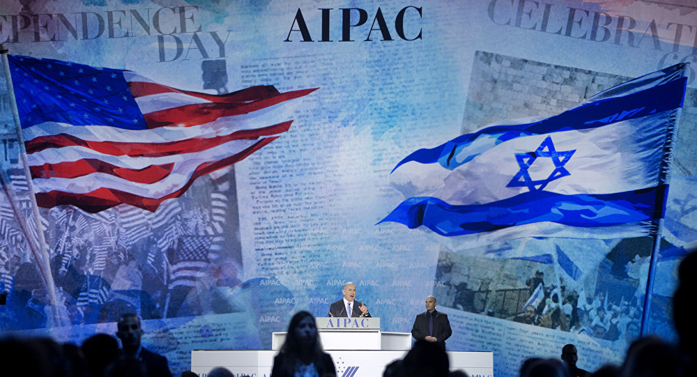 File photo, Israeli Prime Minister Benjamin Netanyahu speaks at the American Israel Public Affairs Committee (AIPAC) Policy Conference in Washington