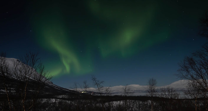 Nothern Lights in Swedish lapland