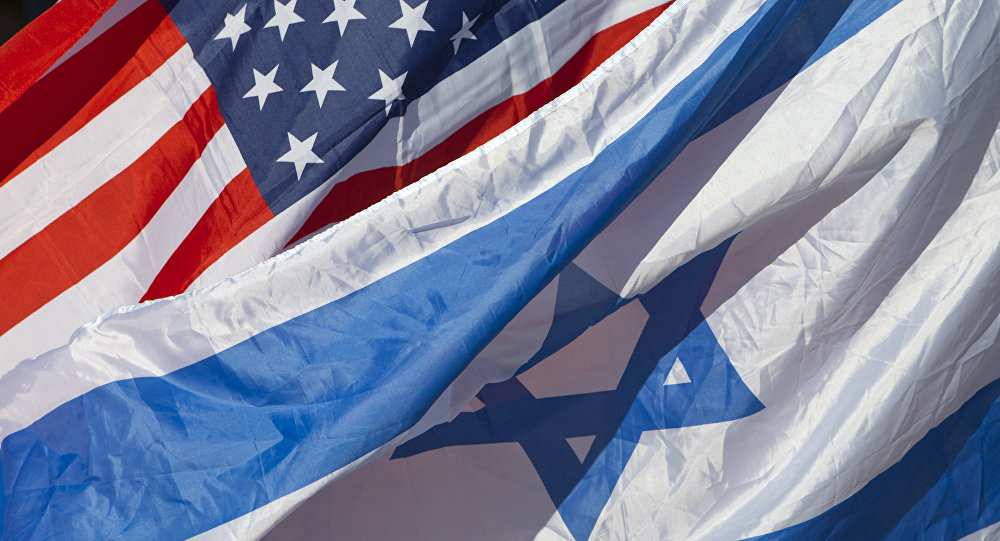 U.S. and Israeli flags fly as U.S. Secretary of State John Kerry arrives in Tel Aviv, Israel, Tuesday, Nov. 24, 2015