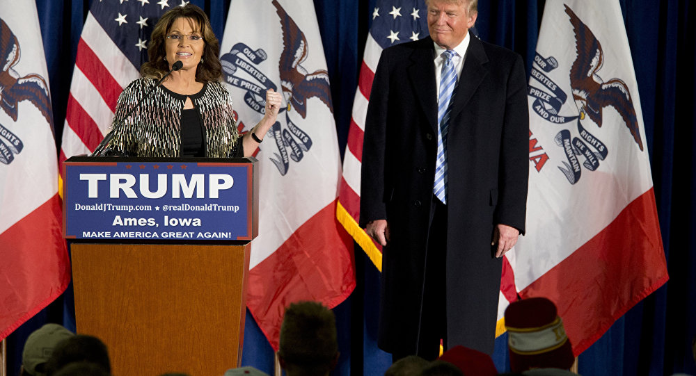 You Betcha! Donald Trump Gets Sarah Palin Endorsement