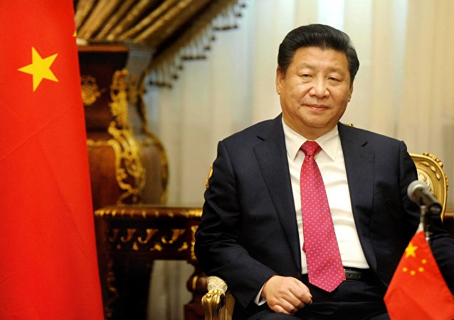 Chinese President Xi Jinping visits the parliament in Cairo, Egypt, Thursday, Jan. 21, 2016.