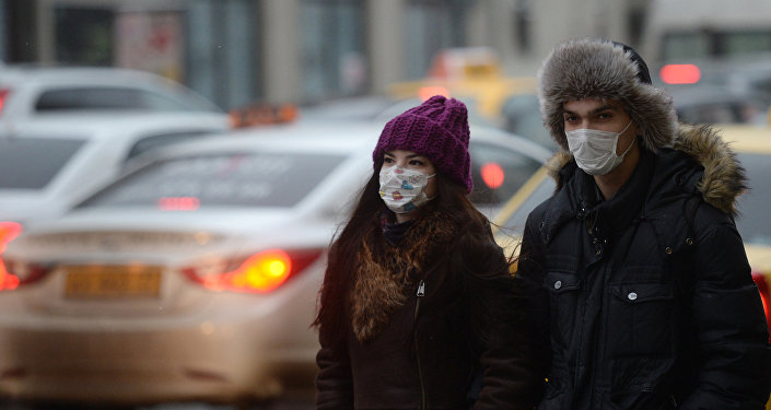 Seasonal flu and respiratory infection in Moscow