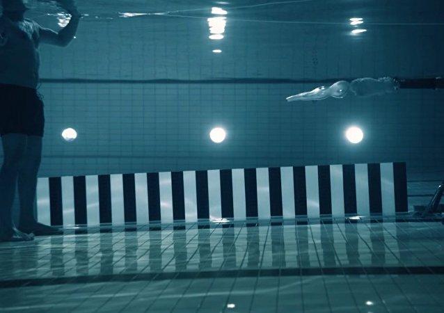 Underwater gunshot
