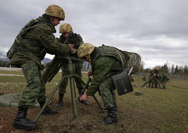 7th Krasnodar military base in the town of Gudauta, Abkhazia. File photo
