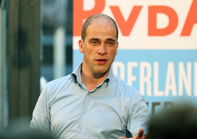 Dutch social democrat leader Diederik Samsom