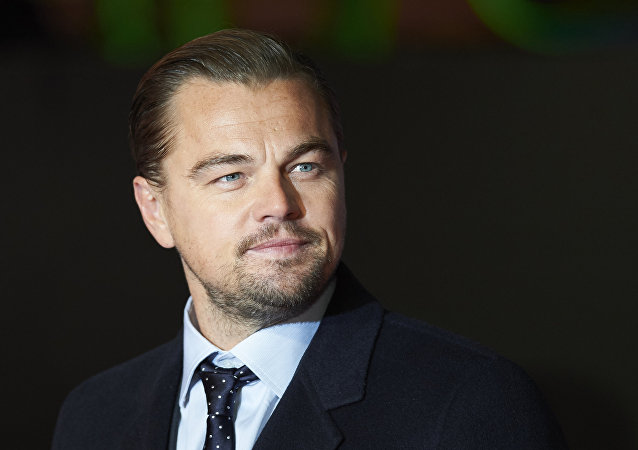 US actor Leonardo DiCaprio