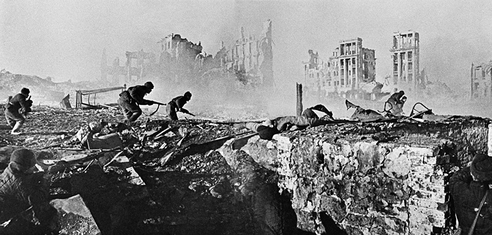Not One Step Back! A Tribute to the Battle of Stalingrad