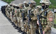 Members of Special Forces Brigade. Military of Montenegro