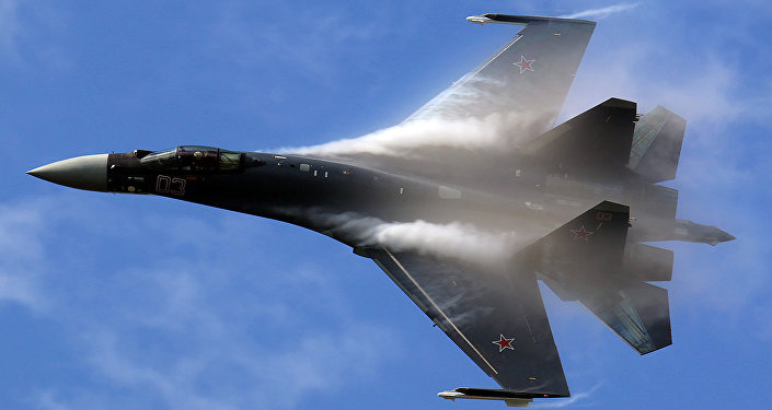 Su-35 super maneuverable multirole fighter