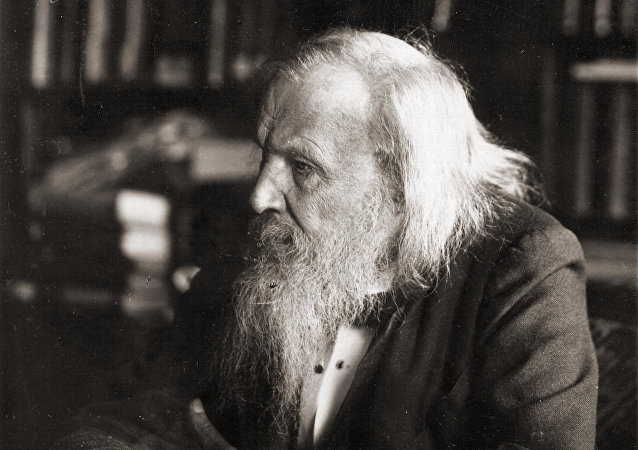 Dmitri Mendeleev in 1897