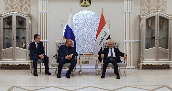 Russian Deputy Prime Minister Dmitry Rogozin's visit to Iraq