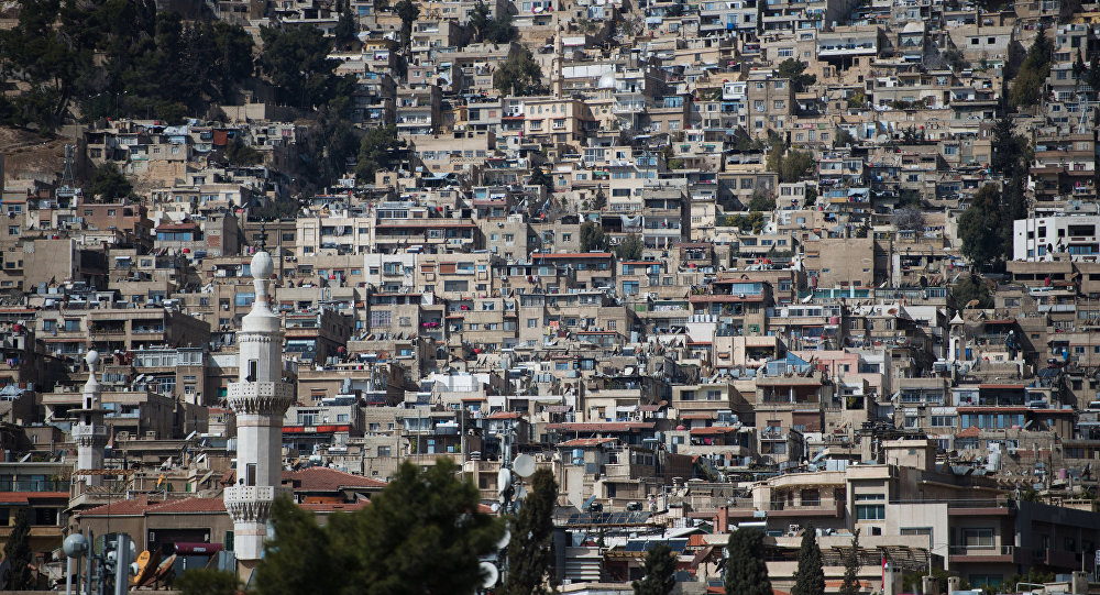 Refugee camp in Damascus