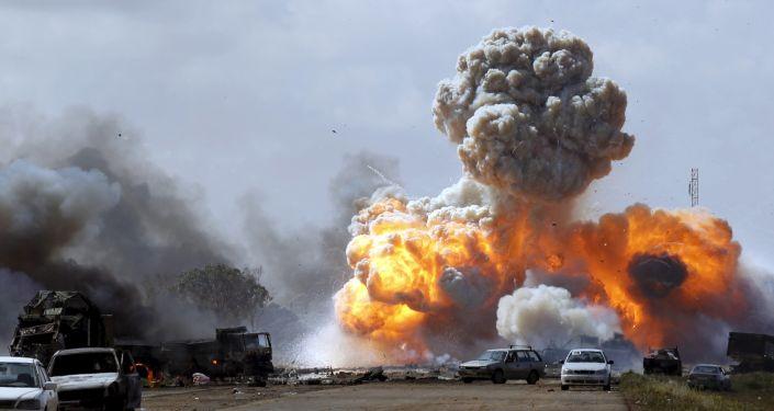Акции протеста в Ливии, 2011 год