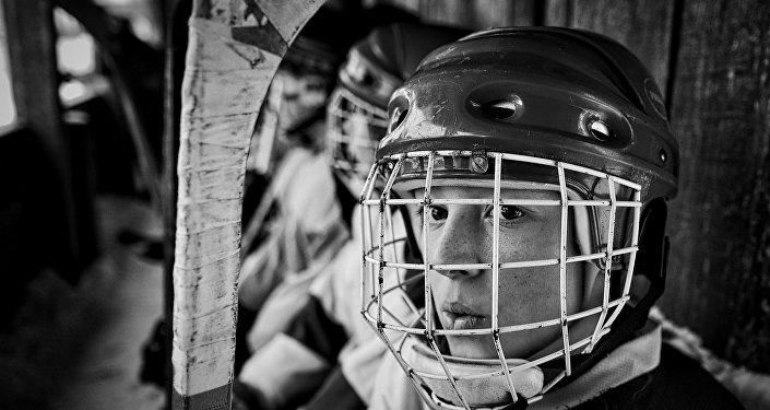 Amateur ice hockey players in the Nizhny Novgorod Region