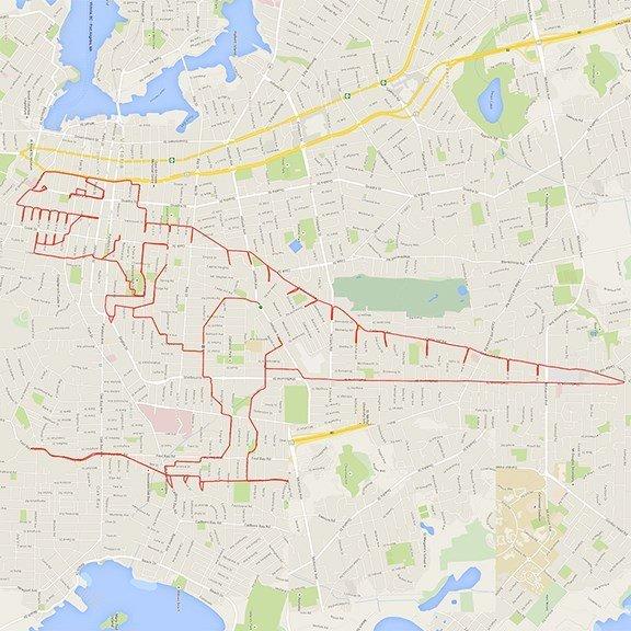 GPS Doodles