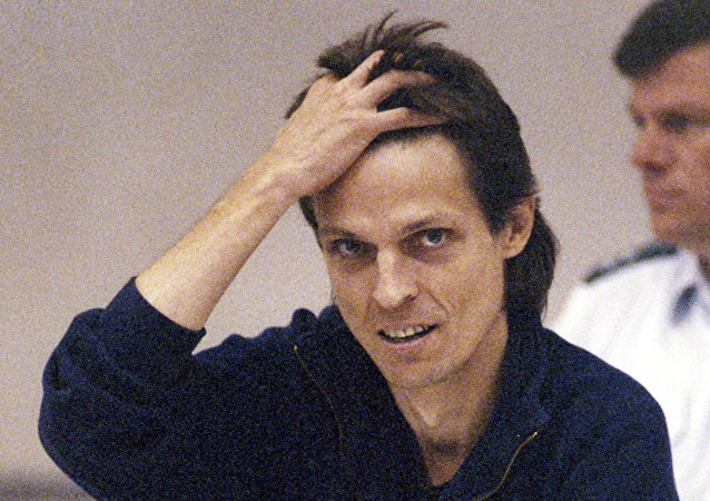 German terrorist Christian Klar stands trial in Stuttgart, southern Germany, in this Sept 7, 1992 file photo.
