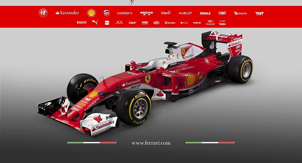 What Color is Ferrari's nd New 2016 Formula One Car? - Sputnik ...