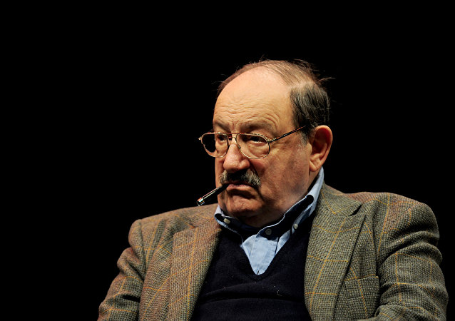 Italian writer Umberto Eco