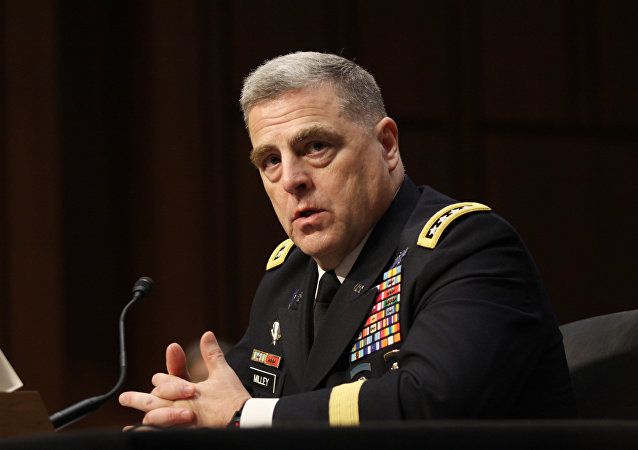 Gen. Mark Milley answers questions at his confirmation hearing to be Chief of Staff of the Army at the Senate Armed Services Committee on July 21, 2015.