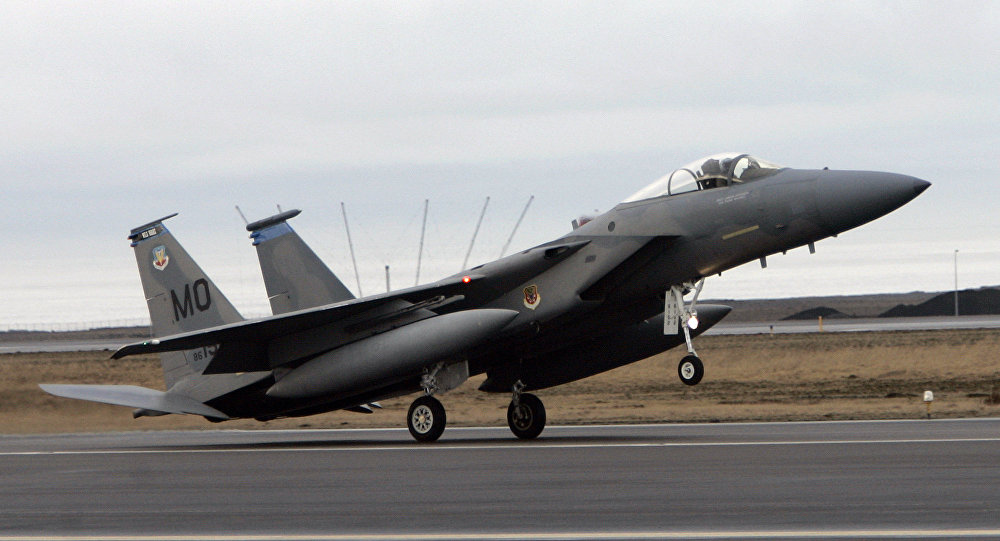 Iceland fm rules out permanent us deployment to keflavik air base an f15 fighter jet lands at the keflavik us air base keflavik iceland freerunsca Images