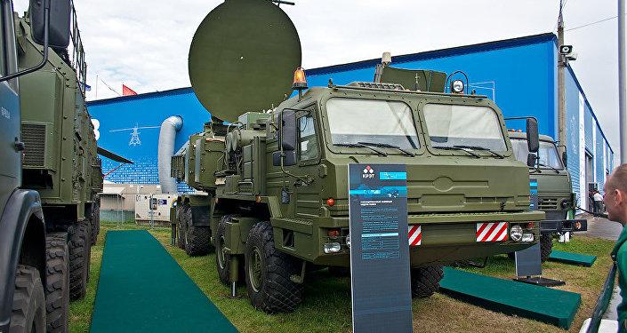 Krasukha mobile ground-based electronic warfare system