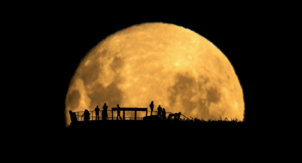 Moon Silhouettes by Mark Gee